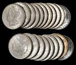 Lot of (500) 1885-O Morgan Silver Dollars. Average MS-60 to MS-63.