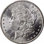 1884-O Morgan Silver Dollar. MS-67 (PCGS).