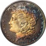 1889 Morgan Silver Dollar. Proof-67 (PCGS). CAC.