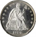 1859 Liberty Seated Half Dime. MS-67 (PCGS).