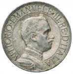 Savoy Coins;Vittorio Emanuele III (1900-1946) 2 Lire 1911 - Nomisma 1160 AG RR - SPL+;700
