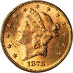 1878 Liberty Head Double Eagle. Doubled Die Obverse, Doubled Die Reverse. MS-63 (PCGS).