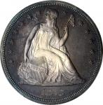 1873 Liberty Seated Silver Dollar. Proof. Unc Details--Questionable Color (PCGS).
