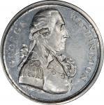 Circa 1792 Twigg medal. Musante GW-38, Baker-65. White Metal. MS-64 (PCGS).