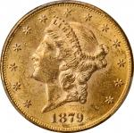 Lot of (2) 1879 Liberty Head Double Eagles. MS-60 (PCGS).