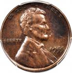 1955 Lincoln Cent. FS-101. Doubled Die Obverse. AU Details--Environmental Damage (PCGS).