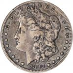 1893-S Morgan Silver Dollar. VF-25 (PCGS).