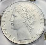 Repubblica Italiana, 100 lire 1956. Mont. 07 27.8 mm.  优美