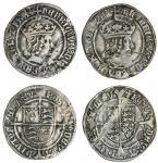 Henry VII (1485-1509), tentative issue, Groats (2), 2.64g, m.m. none, henric vii di gra rex agl z fr