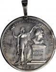 1808 Washington Benevolent Society Medal. Silver. 42.3 mm (excluding hanger). 27.45 grams. Musante G