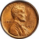 1920-S Lincoln Cent. MS-65 RD (PCGS).