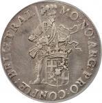 NETHERLANDS. Utrecht. Riksdaler, 1808. PCGS Genuine--Cleaned, AU Details Secure Holder.