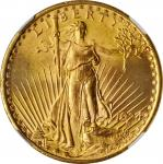1924 Saint-Gaudens Double Eagle. MS-66 (NGC).