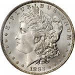 1882-O Morgan Silver Dollar. MS-67 (PCGS).
