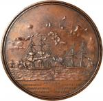 1854 Rescue of Martin Koszta/Commander Duncan Ingraham Medal. Original Large Size. Bronzed Copper. 1