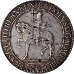 SCOTLAND. 60 Shillings, ND (1637-42). Edinburgh Mint; im: Thistle and в. Charles I. NGC VF-35.