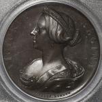 GREAT BRITAIN Victoria ヴィクトリア(1837~1901) AE Medal 1857 PCGS-SP64BN UNC+