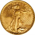 1924 Saint-Gaudens Double Eagle. Unc Details--Cleaned (PCGS).
