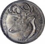 New York—New York. 1863 J.L. Bode Birdstuffer. Fuld-630H-1fo. Rarity-10. Silver. MS-64 (PCGS).
