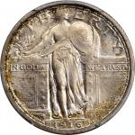 1916 Standing Liberty Quarter. MS-66+ FH (PCGS). CAC.