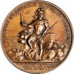 1779 De Fleury at Stony Point medal. Betts-566. Copper. Original dies. Paris Mint. 45.5 mm, 501.8 gr