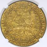 GREAT BRITAIN James I ジェームス1世(1603~25) Ryal(rose-noble) ND(1612~13) NGC-XF40 VF