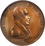 1829 Andrew Jackson Indian Peace Medal. First Size. Second Reverse. Bronze. 76 mm. Julian IP-14. MS-