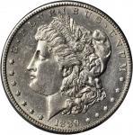 1889-CC Morgan Silver Dollar. AU Details--Cleaned (PCGS).
