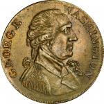 Circa 1793 Washington Success token. Second obverse. Musante GW-42, Baker-266, DeWitt GW 1792-2. Bra