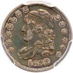 1833 Capped Bust Half Dime. PCGS EF40
