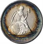 1878 Twenty-Cent Piece. Proof-64 Cameo (PCGS). CAC.