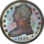 1836 Capped Bust Half Dollar. Graham Reiver-1. Rarity-6+ as a Proof. Reeded Edge. 50 CENTS. Proof-66