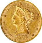 1868 Liberty Head Eagle. AU-58 (NGC). OH.