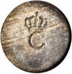 Undated (1779) Stampee. Paris Mint. Vlack-375. Rarity-2. AU-55 (NGC).