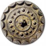 早期星云镜一枚,直径74.1mm,重86.2g,极美品