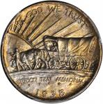 1938-S Oregon Trail Memorial. MS-66 (PCGS).