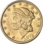 USA République fédérale des États-Unis d'Amérique (1776-à nos jours). 20 dollars Liberty 1873, CC, C