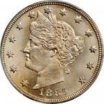 1885 Liberty Head Nickel. MS-66+ (PCGS).