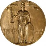 1905 Womens Auxiliary of the Massachusetts Civil Service Reform Association Presentation Medal. Bron