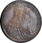AUSTRIA. Taler, 1729. Hall Mint. Charles VI. PCGS MS-64 Gold Shield.
