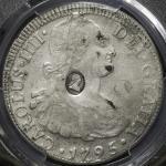 "GREAT BRITAIN George III ジョージ3世(1760~1820) Dollar ND(1797) PCGS-XF Details ""Damage"" スクラッチ VF"
