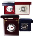 中国纪念银章1盎司一组4枚 完未流通
