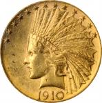 1910-D Indian Eagle. MS-61 (NGC).