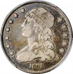 1831 Capped Bust Quarter. Large Letters. VF-20 (PCGS).