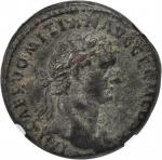 DOMITIAN, A.D. 81-96. AE As (12.81 gms), Rome Mint, ca. A.D. 85.