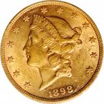 1898 Liberty Head Double Eagle. AU-55 (PCGS).