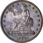 1883 Trade Dollar. Proof-64 (NGC). CAC.