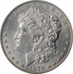 1879-CC Morgan Silver Dollar. VAM-3. Top 100 Variety. Capped Die. AU-58 (PCGS).