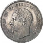 FRANCE Second Empire / Napoléon III (1852-1870). Double thaler ou module de 2 thalers, hommage de Fe