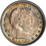 1906-O Barber Quarter. MS-64 (PCGS). CAC.